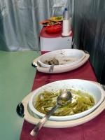Typowy włoski lunch...